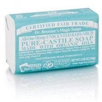 Dr Bronner Bar Soap Baby Mild