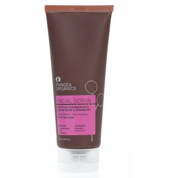 Pangea Organics Facial Scrub Egyptian Geranium With Adzuki Bean & Cranberry