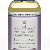 deep steep bubble bath lavender chammomile