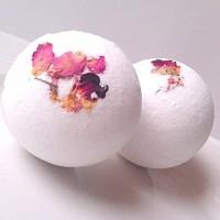 bath bomb rose