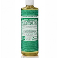 dr bronner almond castille liquid soap