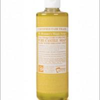 Dr Bronner Citrus Liquid Castille Soap