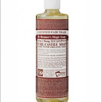 dr bronner eucalyptus castille liquid soap