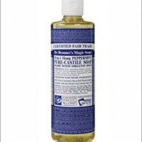 dr bronner peppermint castille liquid soap