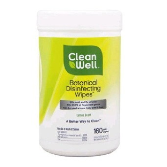 Cleanwell disinfectant wipes