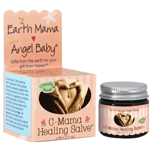 earth mama c-section healing salve jar