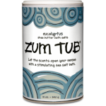 zum tub eucalyptus bath salt